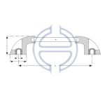 Plastik Profil Boru Kulp Oval