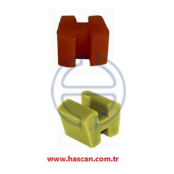Poliüretan Ayaklı Kaplin Lastiği H Tipi